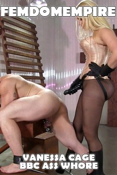 FemdomEmpire: Vanessa Cage - BBC Ass Whore