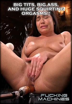 Big tits fucking machine good