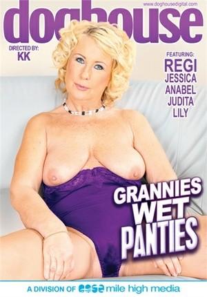Mature wet pants