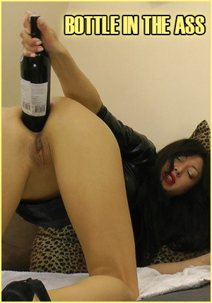 Bottle In The Ass Porn