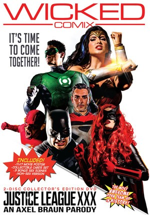 Watch porn online Justice League XXX: An Axel Braun Parody