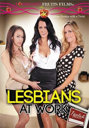 Lesbians At Work - Porn film Lesbians At Work: Lipstick Realty