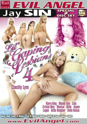 Watch porn online Lil' Gaping Lesbians 4