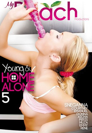 Watch porn online Young And Home Alone 5